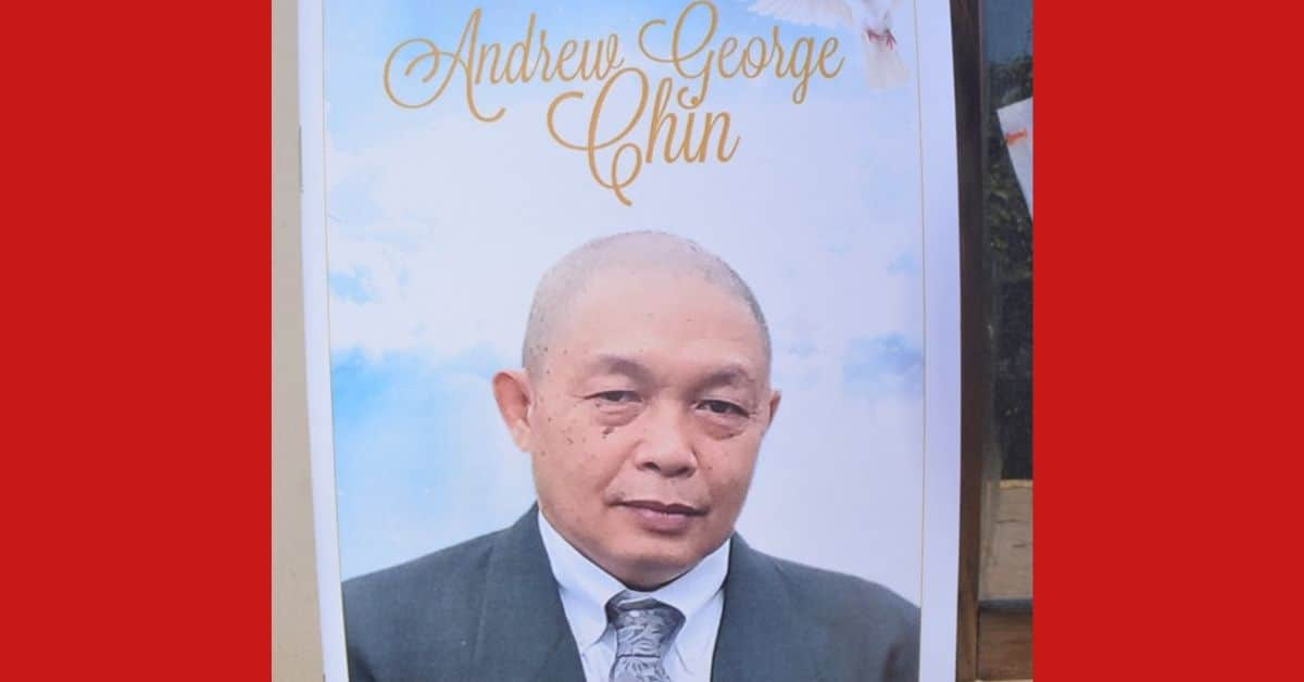 Businessman Andy Chin Funeral Photos