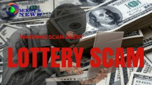 Lottery Scammer Nabbed