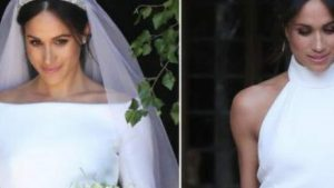 Comparing Meghan Markle's First and Second Wedding Dresses