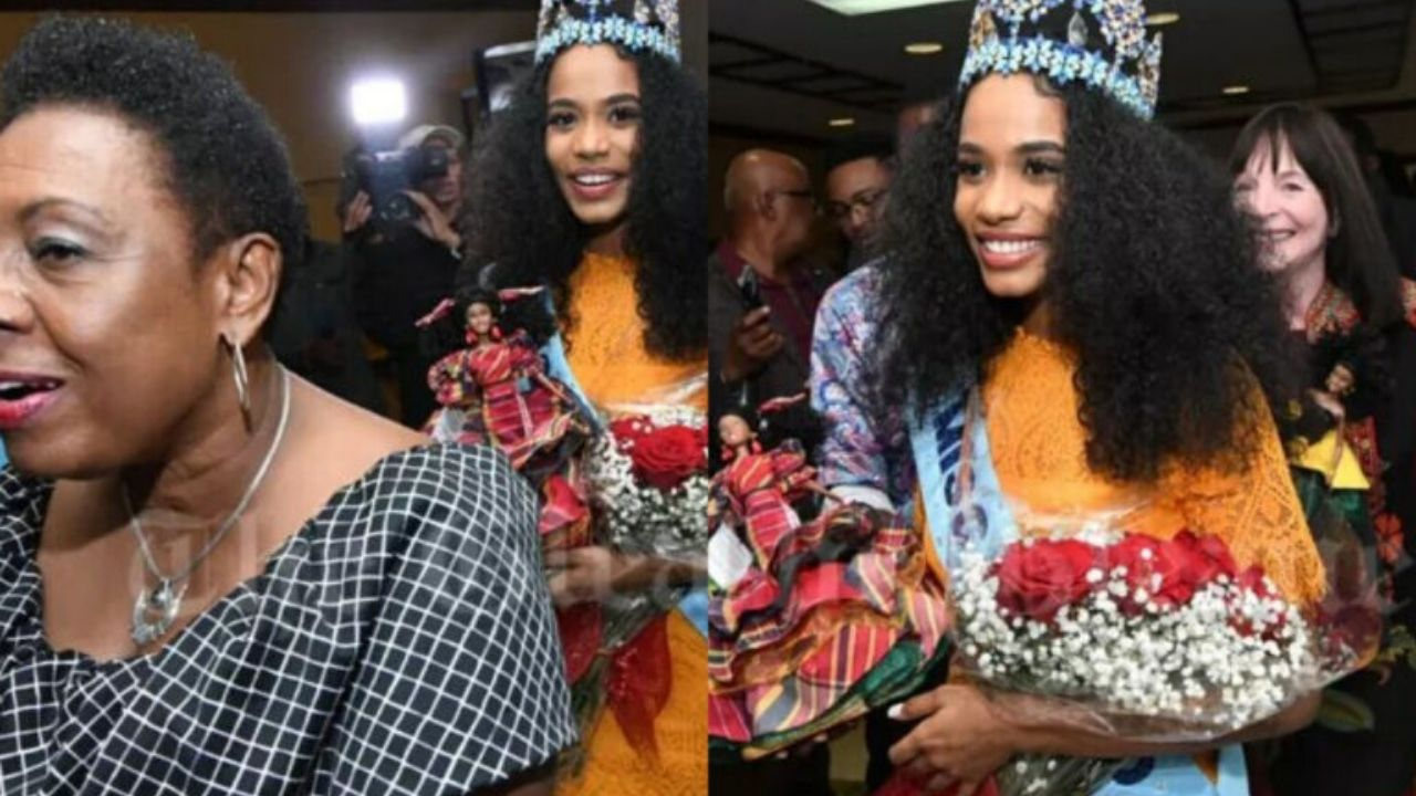 Miss World, Jamaica's Toni-Ann Singh, is back home In Jamaica