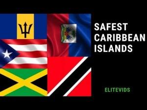 TOP 10 SAFEST CARIBBEAN ISLANDS ( And 3 most dangerous)