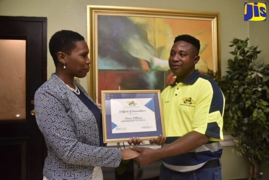 NSWMA Workers Recognised