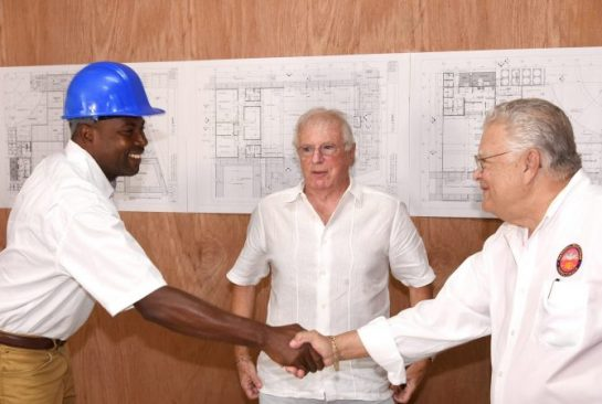 Phase One Construction of Tuition-Free School in St. Catherine to be Completed in June