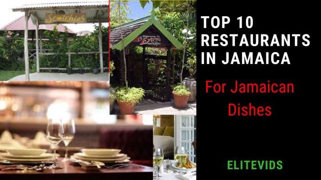 TOP 10 RESTAURANTS IN JAMAICA (For Jamaican Food)