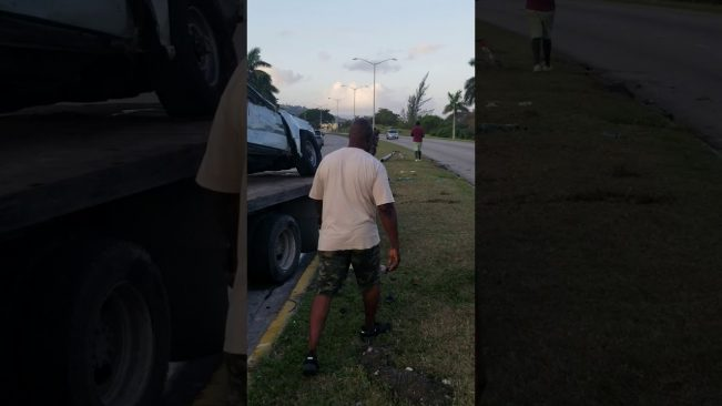 Video: Accident at Providence, Montego Bay
