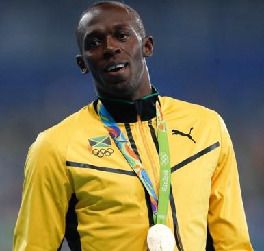 Usain Bolt the retired legendary sprinter