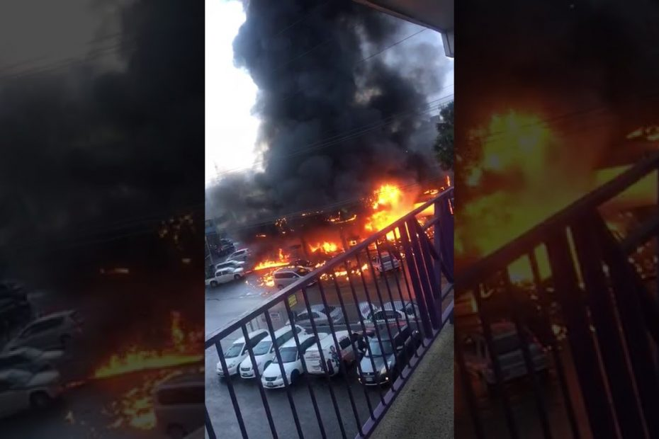 Video: Heaven's Gas Station in Mandeville blew up in Fire