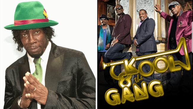 Kool & the Gang and Shabba Ranks Headline the Grenada Music Festival 2020