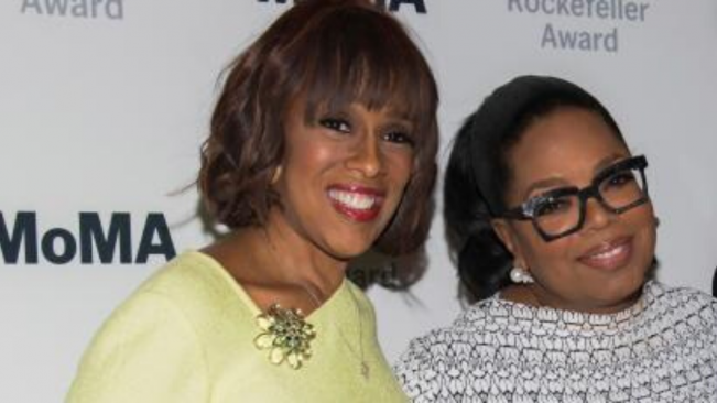 Oprah chokes up defending Gayle King, says best friend 'not doing well,' getting death threats over Kobe Bryant interview clip