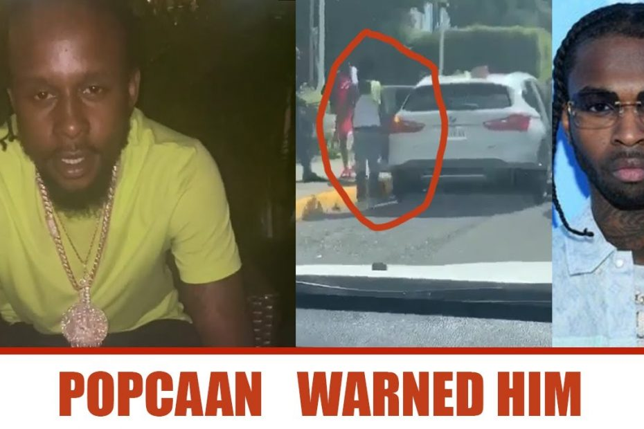 Popcaan WARNED PopSmoke | Popcaan Reacts to Police Gun