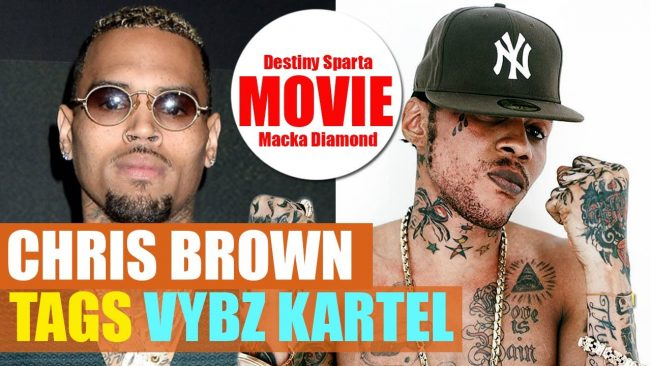Vybz Kartel Made A DEAL For His RELEASE   Chris Brown TAGS Kartel