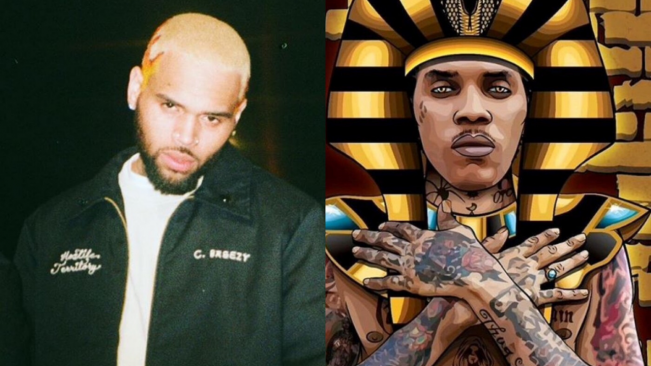 "Chris Brown Says Incarcerated Dancehall Icon Vybz Kartel Is ""Immortal"""