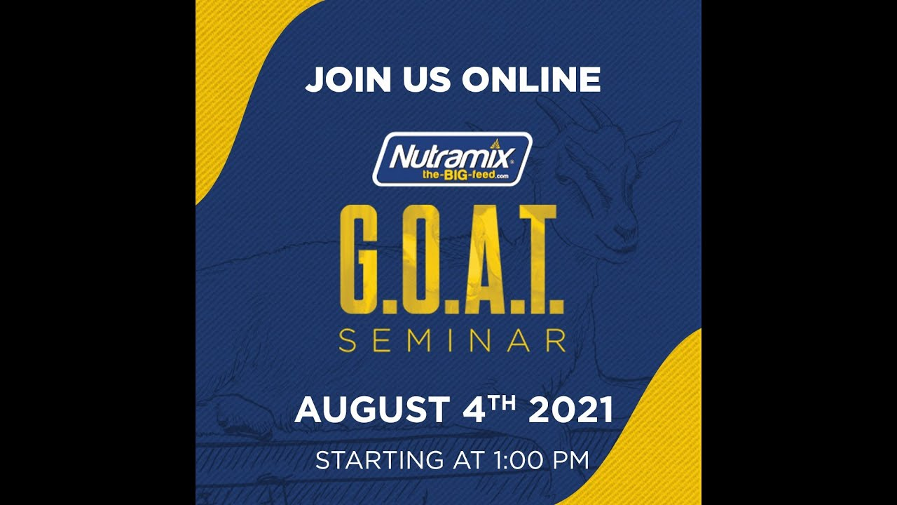 Nutramix G.O.A.T Seminar